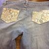 Cómo coser los bolsillos de encaje!