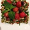 Cómo ahumado berenjena ensalada .. Cocina Mediterránea