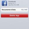 Cómo acelerar Facebook en el iPhone