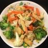 Cómo Revuelva freír verduras Mix