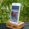 Cómo cadena del cable del relámpago en su iPhone Dock.