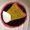 Cómo sueca Blueberry Sopa y Spiced Angel Food Cake