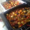 Cómo Verduras Tamari y patatas bebé
