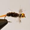 Cómo atar una ninfa de cabeza príncipe del grano por la pesca con mosca