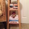 Cómo Transformar un taburete de madera En un estante