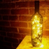 Cómo: Gire Botellas de vino en las linternas románticos