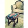 Cómo tapizar una silla con una manta