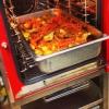 Cómo utilizar un Alto-Shaam Combi rehogar pollo Vasco