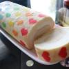 Cómo utilizar las plantillas para decorar Rolls Cake