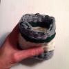 Cómo tejer una pequeña bolsa