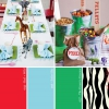 Hue It Yourself: Rojo, Verde + cebra Fiesta Safari