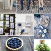 Inspiración: Una boda Berry Azul + madera resistida