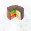 Es tradición! Pastel del arco iris de la galleta italiana