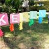 Fiesta de cumpleaños del arco iris DIY de Kellyn