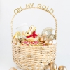 ¡Oh, mi oro! Cesta de Pascua para sus Gal Pals