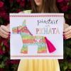 Pin la cola en el Piñata (Libre para imprimir!)