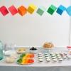 Planificación de una fiesta del arco iris
