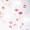 Partido del día de San Valentín fruncido para arriba
