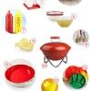 Guía de alimentación Barbacoa Rojo + Amarillo Memorial Day