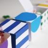Día libre para imprimir DIY Cajas del arco iris de San Patricio