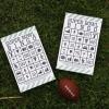 Super Bowl del bingo para imprimir gratis