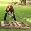 La manera fácil de deconstruir un palé