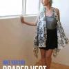 The Simple No-Sew drapeado Chaleco | Lo mejor de Fall tendencias de la moda