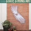 Este DIY Cuerda Arte Tutorial Oficios increíble Decoración