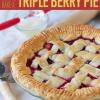 Triple Receta Berry Pie for You bricolaje Postre Divas