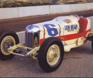 1930 Miller coche 91 indy