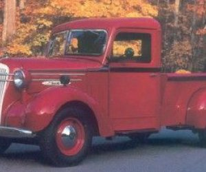 1937-1938 Mack jr camioneta de media tonelada