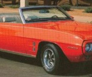 1969 Pontiac Firebird convertible de sprint