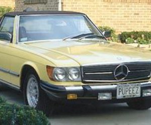 1970-1990 Mercedes-Benz SL (R107)