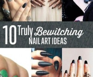 10 Ideas Nail Art Bewitching para Halloween