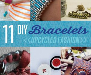 11 Ideas Upcycled Pulsera | DIY pulsera