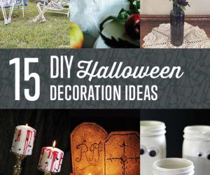 15 de Halloween Decoración DIY Proyectos