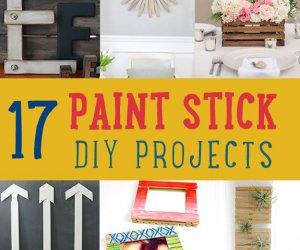 17 Simple & Fun pintura DIY del palillo Oficios