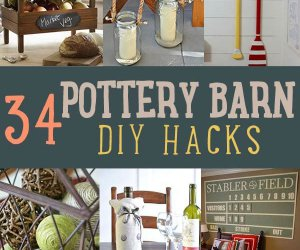 34 DIY Pottery Barn Hacks su billetera se lo agradecerán