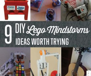 9 DIY Lego Mindstorms Ideas