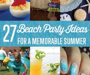 Increíble Ideas DIY Beach Party