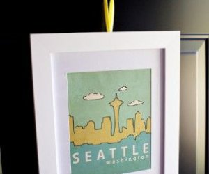 DIY Azul + Amarillo Seattle Inspirado Baby Shower
