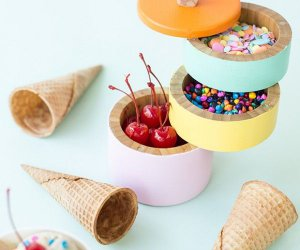 DIY Helados Caddy