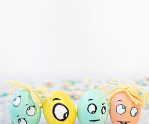 Monster DIY Confeti Huevos