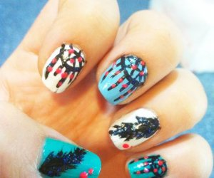 Cómo crear Dreamcatcher Nails