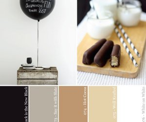 Hue It Yourself: Blanco y Negro y neutral por todas partes